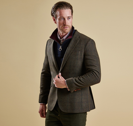 Barbour MTA0895OL51 Baglan Tailored Jacket Olive