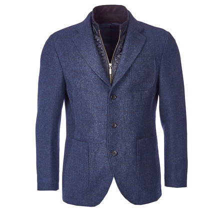 Barbour MTA0889NY51 Ballow Tailored Jacket Navy