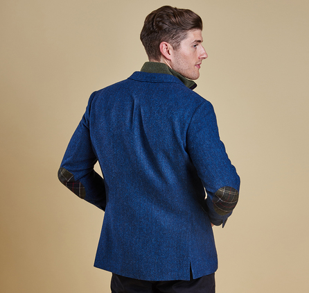 Barbour MTA0887IN51 Parbury Tailored Jacket Blue