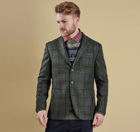 Barbour MTA0902OL51 Alderholt Tailored Jacket Olive