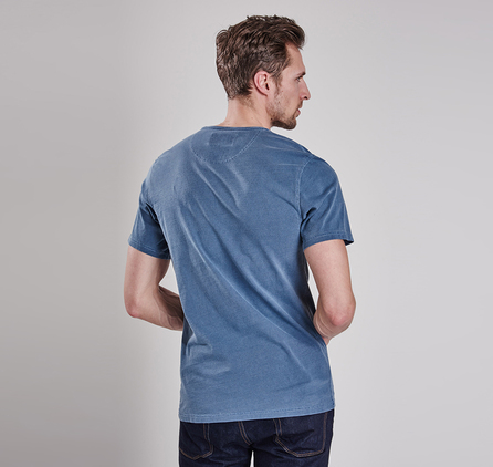 Barbour MTS0123BL14 Profile Tee Dark Chambray