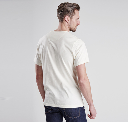 Barbour MTS0127BE13 Tanner Tee Neutral