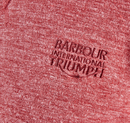 Barbour MML0717RE51 Racer Crew Red