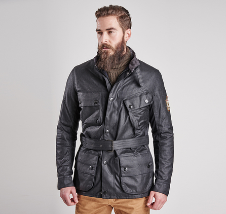 Barbour MWX0912BK11 Rocket Wax Jacket Black
