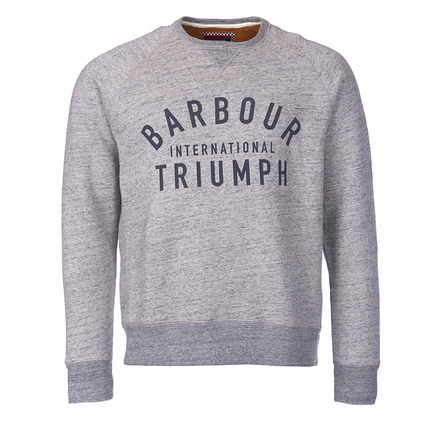 Barbour MML0718GY15 Shifter Sweater Light Grey