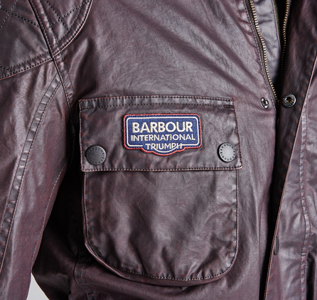 Barbour MWB0482RE71 Sprint Jacket Black/Red