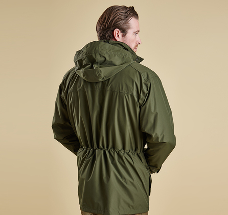 Barbour MWB0452OL71 Darley Waterproof Jacket New Olive
