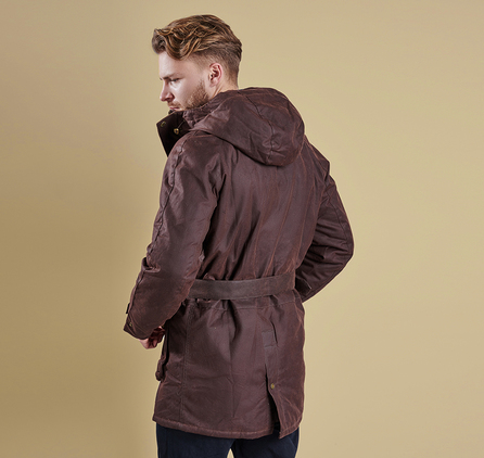 Barbour MWX0888RU71 Wicklow Wax Jacket Rustic