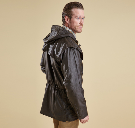 Barbour MWX0011SG31 Durham Waxed Jacket