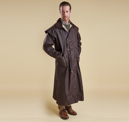 Barbour MWX0006BR71 Stockman Coat Waxed Jacket