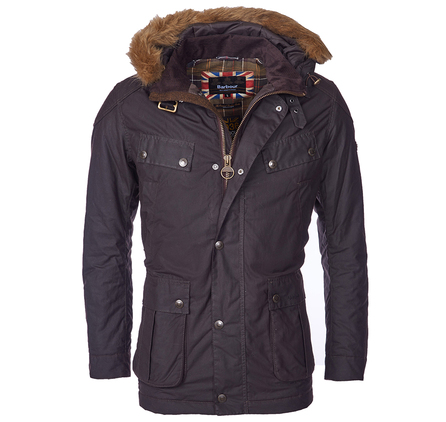 Barbour MWX0934RU91 Pipe Tailored Fit Wax Jacket