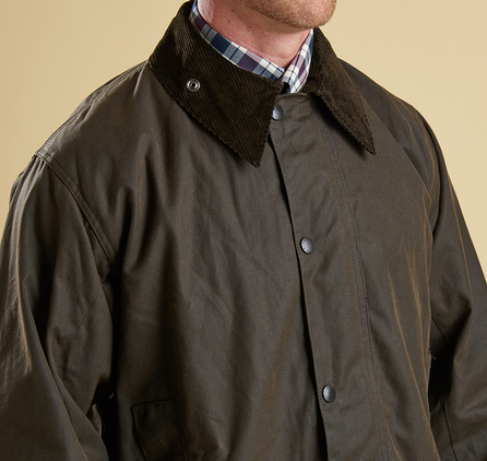 Barbour MWX0009OL91 Northumbria Waxed Jacket
