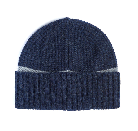 Barbour MHA0346NY35 Armstrong Beanie Navy/Grey