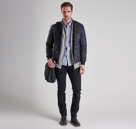 Barbour MSH3600IN32 Fuel Shirt Indigo