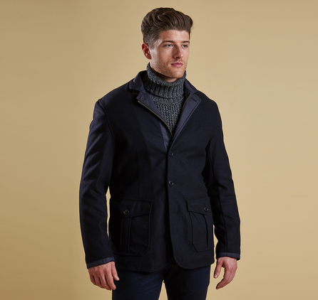 Barbour MWO0179NY71 Barkston Jacket Navy