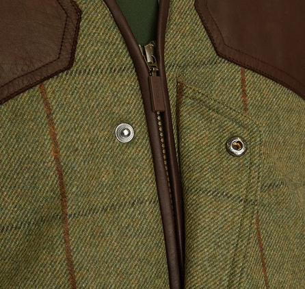 Barbour MWO0184GN53 Fellmoor Waistcoat Olive/Brown
