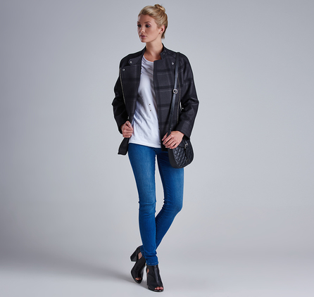 Barbour LTR0159BL15 Thruxton High Waisted Super Skinny Jean