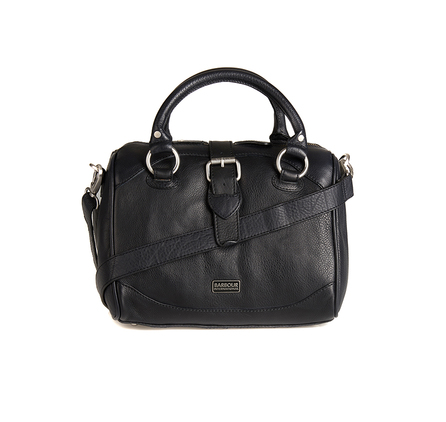 Barbour LBA0205BK11 Hetton Leather Bag Black