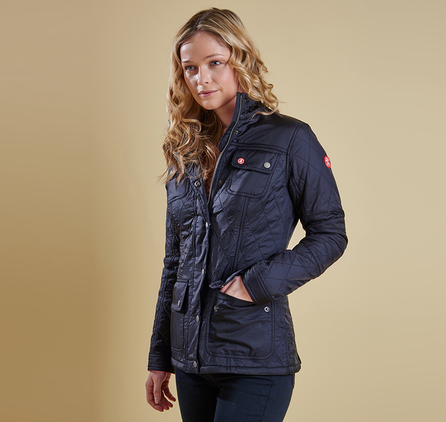 Barbour LQU0662NY91 Bartlett Quilted Jacket Navy