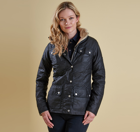 Barbour LWX0549BK71 Bartlett Wax Jacket Black