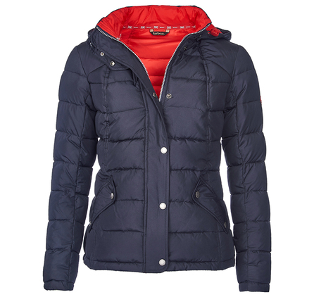 Barbour LQU0659NY71 Landry Short Quilted Jacket