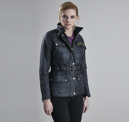 Barbour LQU0030BK91 Polarquilt Jacket Black/Black