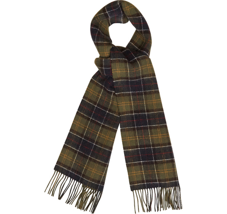 Barbour USC0140TN11 Double Faced Check Scarf Tartan