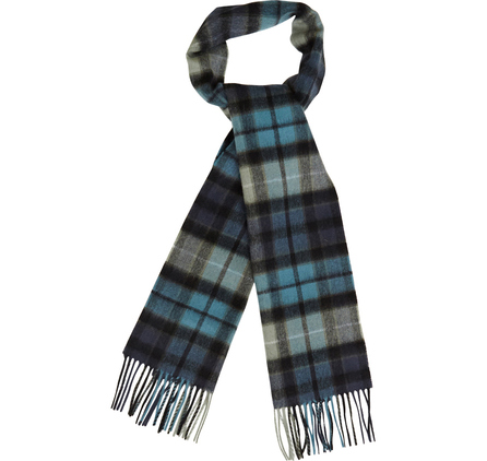 Barbour USC0137BK11 New Check Tartan Scarf Black