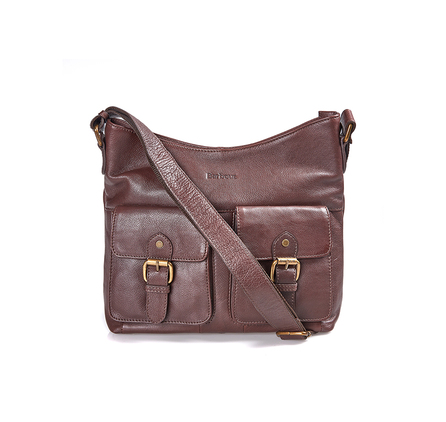 Barbour LBA0232BR71 Slateford Leather Shoulder Bag