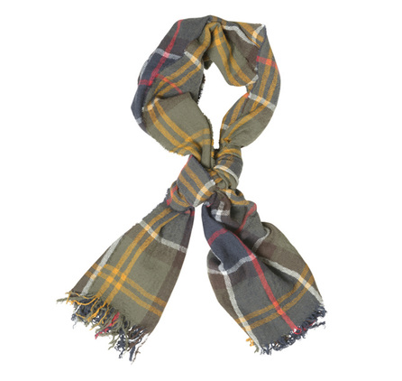 Barbour USC0117TN11 Superfine Tartan Scarf Classic