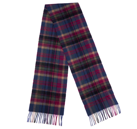 Barbour LSC0109NY11 Vintage Winter Plaid Scarf