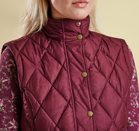 Barbour LQU0638RE91 Tors Gilet Bordeaux