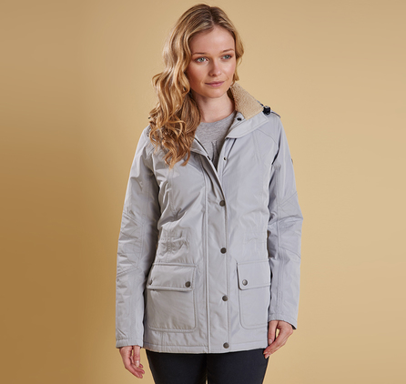 Barbour LWB0353GY11 Aspley Jacket Silver Ice
