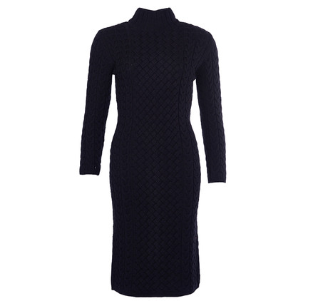 Barbour LKN0520BK11 Ratio Knit Dress Black