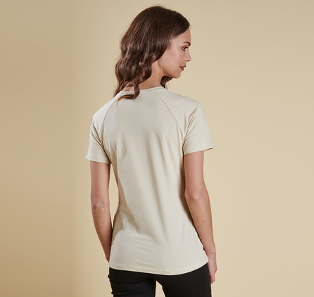 Barbour LTS0082CR51 Clyde Tee Pearl