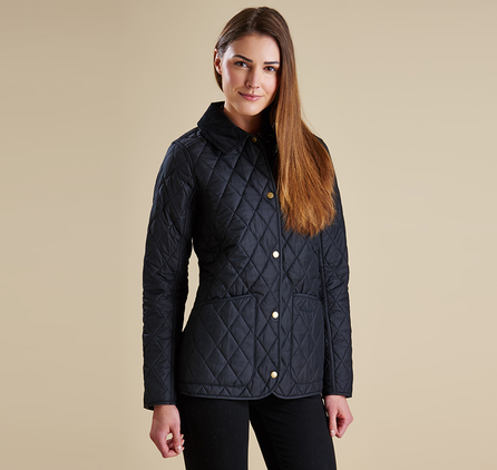 Barbour LQU0572BK11 Montrose Quilted Jacket Black