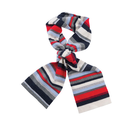 Barbour LSC0057CR11 Briggs Striped Scarf Vanilla