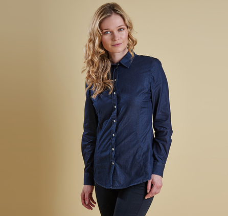 Barbour LSH0907BL73 Barlett Shirt Denim