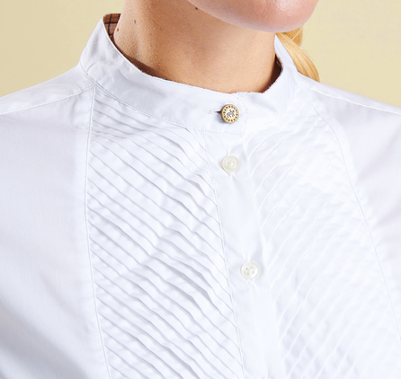 Barbour LSH0897WH11 Sinderhope Shirt White