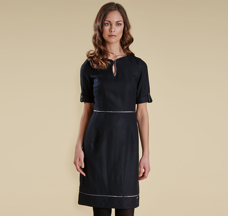 Barbour LDR0057BK11 Dee Dress Black