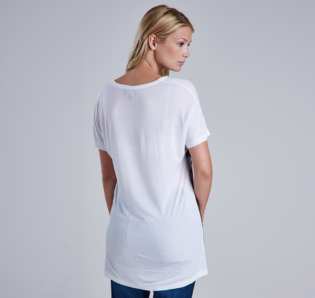 Barbour LTS0077WH11 Springer Tee White