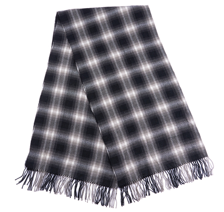 Barbour LSC0116BK11 Bandit Scarf Black/White