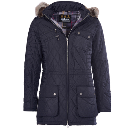 Barbour LQU0651NY71 Reflector Quilted Jacket Navy