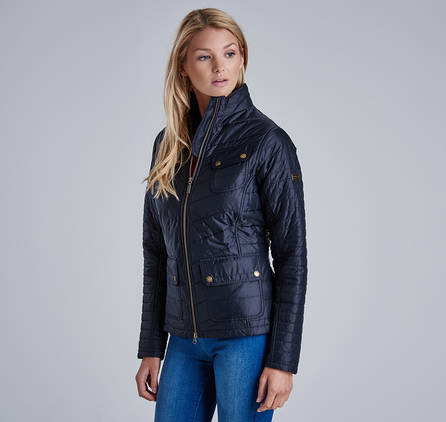 Barbour LQU0657BK91 Worldcrosser Quilted Jacket