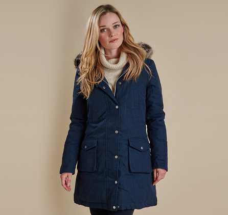 Barbour LWB0300NY71 Wrest Coat Navy