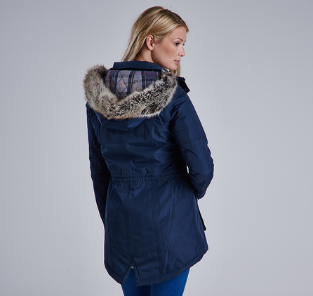 Barbour LWB0351NY71 Reflector Jacket Navy