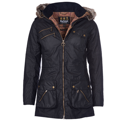 Barbour LWX0540BK71 Bearing Wax Jacket Black