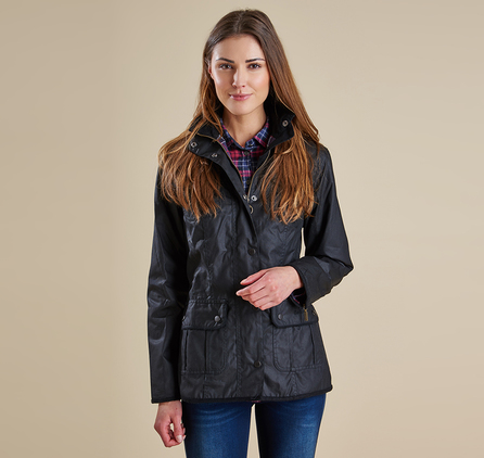 Barbour LWX0004BK91 Ladies Utility Waxed Jacket