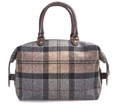 Barbour LBA0238TN75 Munro Tartan Mini Holdall