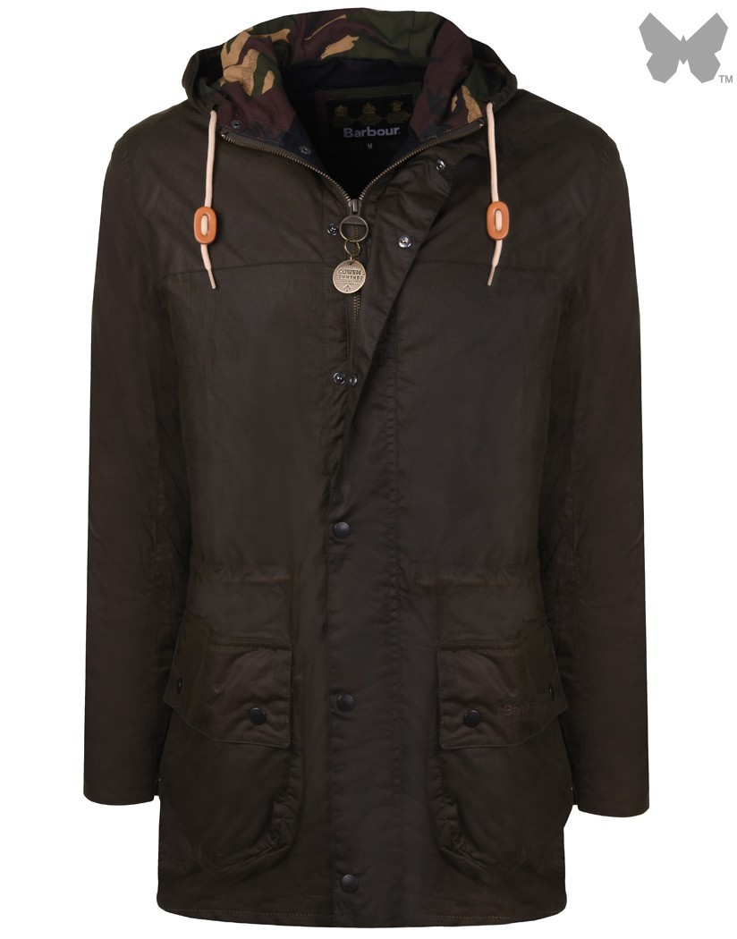 Barbour Archive Olive Wax Durham Jacket
